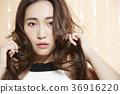 美丽的女人美容肖像 36916220