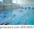 swimming lessons  bokeh effect 36919683