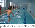 swimming children in swimming lessons 36919720
