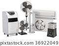 Cooling and climate electric equipment 36922049