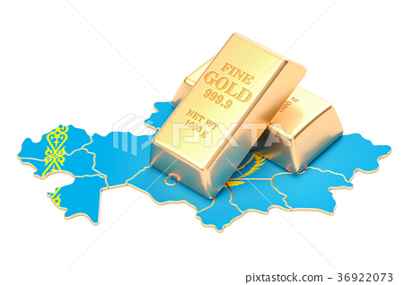Golden reserves of Kazakhstan concept 36922073