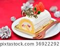 เค้ก,คริสต์มาส,เค้กวันคริสต์มาส 36922292