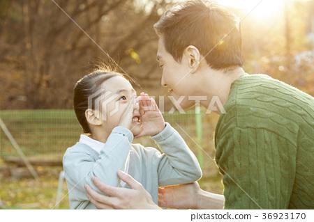 아빠,딸,가족,행복,한국인 36923170