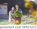 爸爸,妈妈,女儿,家庭,农村,生活 36923221