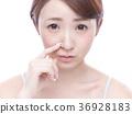 鼻炎 女性 女 36928183
