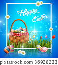 basket easter egg 36928233
