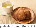 銅鑼燒 兩個小煎餅中間夾豆餡 和果子 36930314