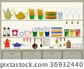 廚房 灶 日常必需品 36932440