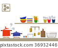 kitchen, kitchens, daily necessities 36932446