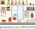 廚房 日常必需品 日用品 36932450