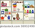 kitchen, kitchens, household good 36932490