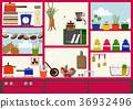 廚房 日常必需品 日用品 36932496