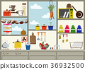 kitchen, kitchens, household good 36932500