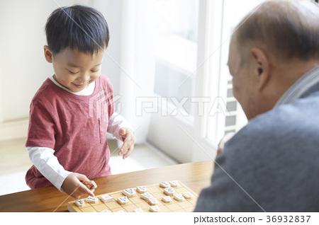 장기를 어린이와 노인 36932837