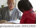 couple, senior, elder 36932900