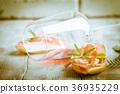 面包片 美味 意大利熏火腿 36935229