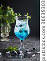 alcohol, berry, blue 36935303