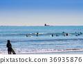 chigasaki, surfer, surfers 36935876