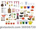 图标 杂物 厨房 36936730