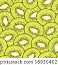 kiwi fruit seamless 36939402