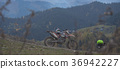 Enduro journey with dirt bike high in the 36942227