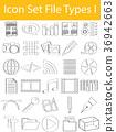 icon, set, file 36942663