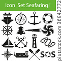 Icon Set Seafaring I 36942772