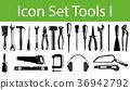 icon, set, Tool 36942792