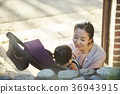 엄마,유아,아들,한국인 36943915