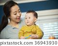 엄마,아들,유아,한국인 36943930