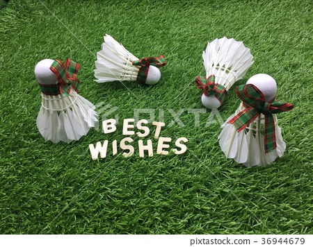 Best wishes for Badminton player 36944679