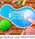 배경, 만화, 여름 36947909