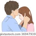 親吻 吻 接吻 36947939