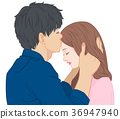 親吻 吻 接吻 36947940