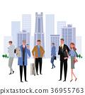 建立小组工作者例证 36955763