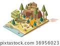 campsite, camp, tree 36956023
