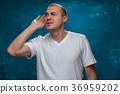 man, posing, male 36959202