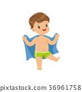毛巾 擦 兒童 36961758