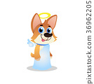corgi angel wings 36962205