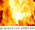 Background image of burning fire 36962484