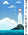 lighthouse sea marine 36963118