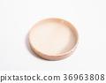 Tambourine on white background 36963808