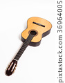 acoustic, brown, guitar 36964005