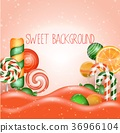 Candy land background 36966104