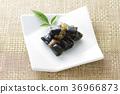 fish wrapped in seaweed and boiled, kelp, konbu 36966873