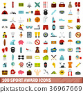 100, sport, icons 36967669