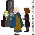 chief priest, monk, buddhist priest 36968215