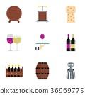 wine, company, icon 36969775