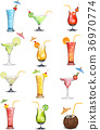 Variations in fruit and vegetable juices 36970774