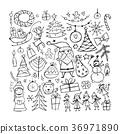 christmas,santa,tree 36971890